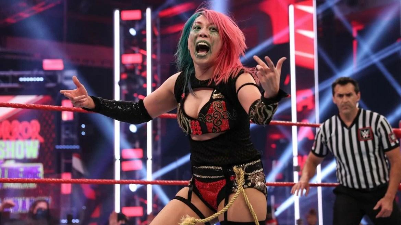 WWE: Asuka vuole un match con Rhea Ripley