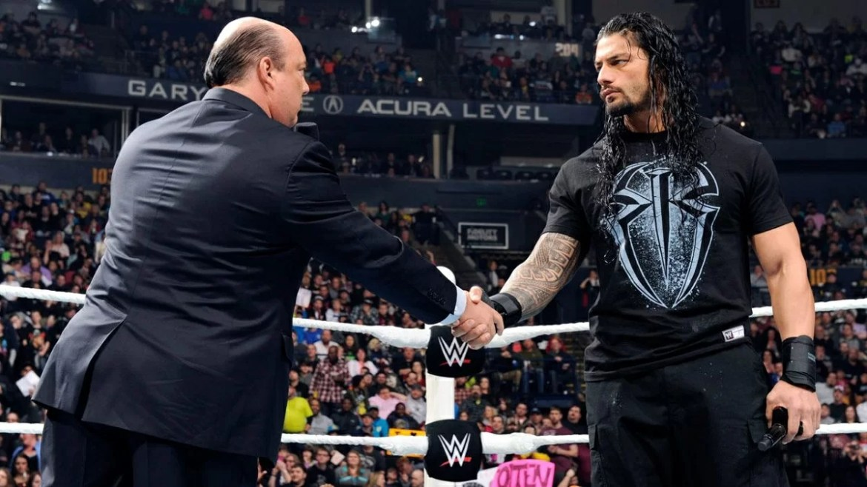 """Paul Heyman: """"Roman Reigns già ai tempi dello Shield faceva capire di essere un campione"""""""