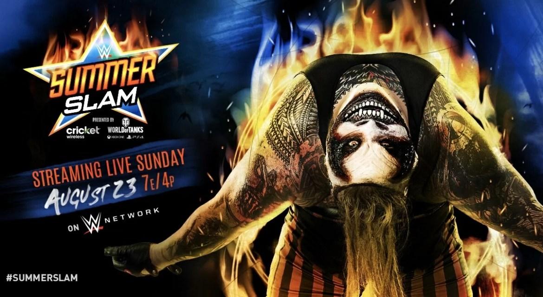WWE: Card finale di SummerSlam 2020