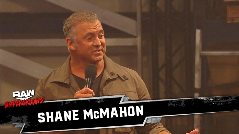 WWE: Shane McMahon è entusiasta di Raw Underground