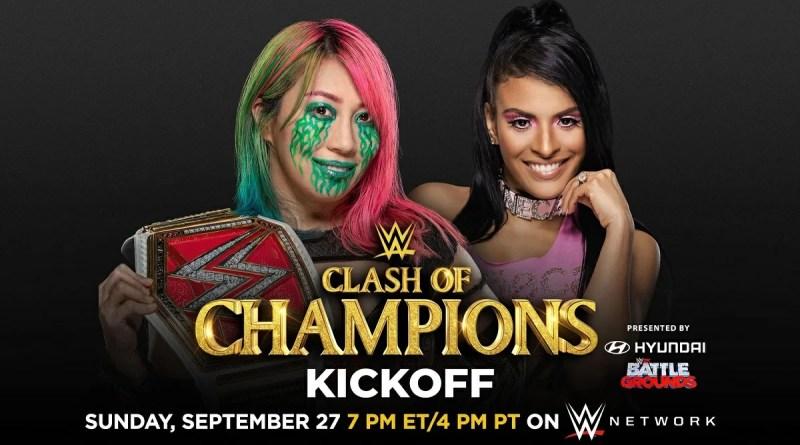 WWE: Rivelate le quote per Asuka vs Zelina Vega