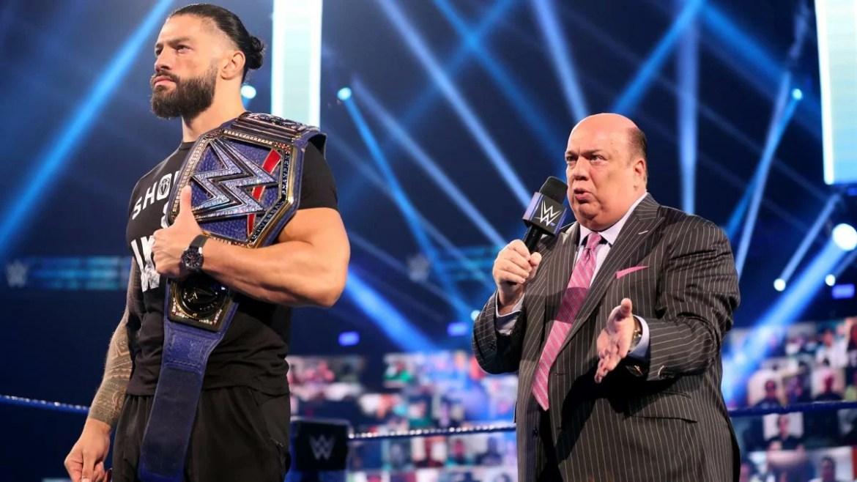 WWE: Paul Heyman aumenta l'hype in vista del match tra Roman Reigns e Braun Strowman