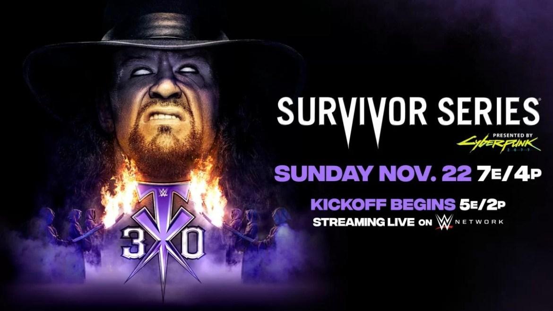 WWE: Card finale di Survivor Series 2020