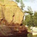 каньон реки Оредеж