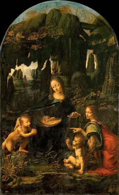 Leonardo Da Vinci, Virgin on the Rocks, c. 1480
