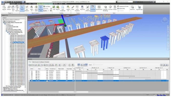 Interface Navisworks / Fonte: Autodesk