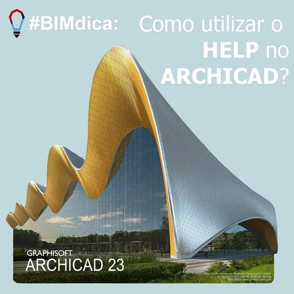 SpBIM Como abrir o Help no ArchiCAD Parte