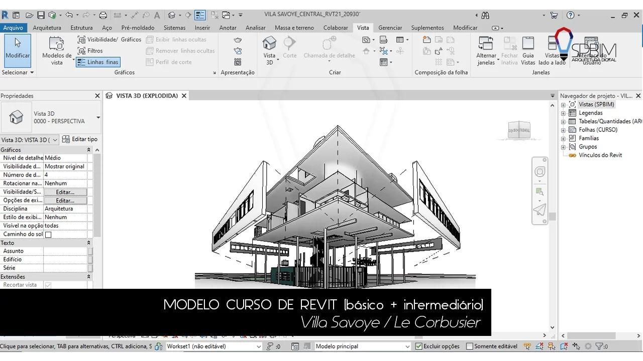 Villa Savoye Le Corbusier SpBIM