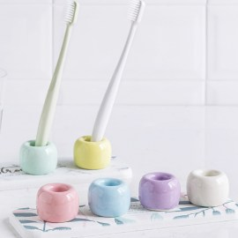 Pastel Colored Toothbrush Holder