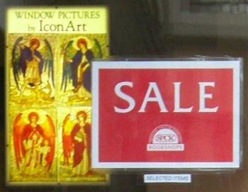 Salisbury SPCK Sale Notice, 18th Dec 2008