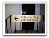 Cathedral Shop gifts and books