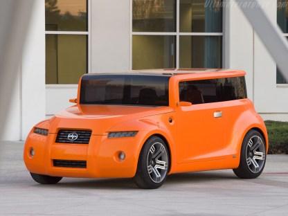 2008 Scion Hako Coupe Concept image : yarisworld.com