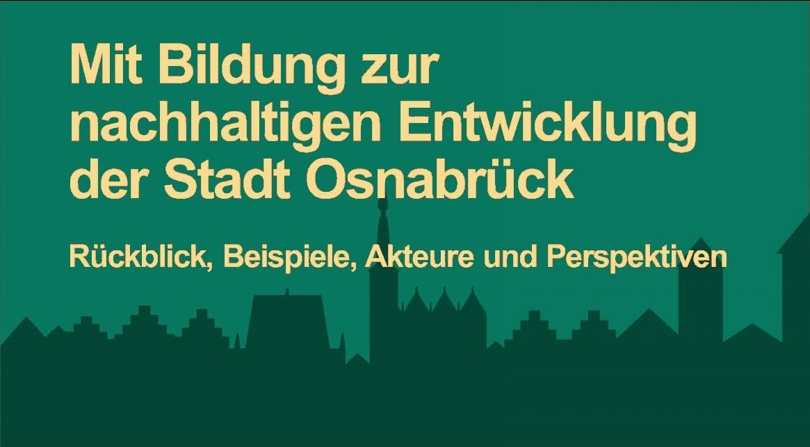 Mit Bildung zur nachhaltigen Entwicklung der Stadt Osnabrück