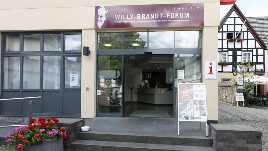 Besuch des Willy-Brandt-Forums in Unkel am Rhein