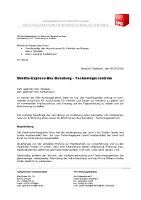Shuttle-Express-Bus Bensberg – Technologiezentrum