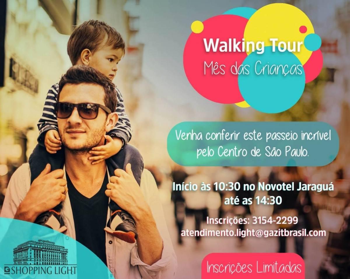 Walking Tour Kids do Shopping Light - a edição especial para o mês das crianças