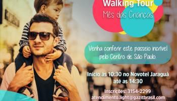 598099fa6 Walking Tour Kids do Shopping Light - a edição especial para o mês das  crianças