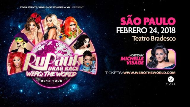 werk the world tour - rupauls drag race