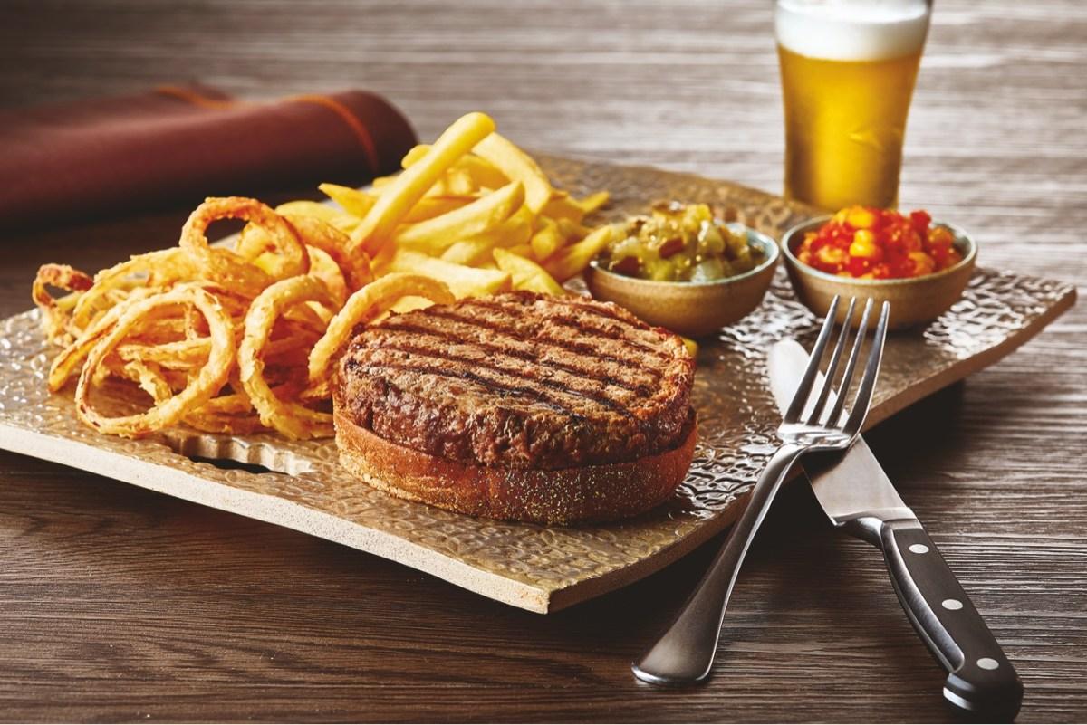 Restaurante America: cardápio executivo