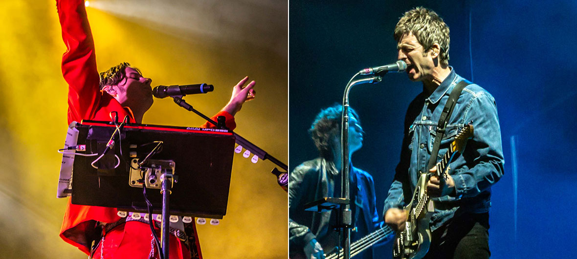 Foster the People e Noel Gallagher arrastaram público cativo no Anhembi