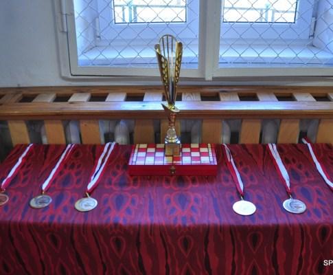 Turniej Warcabowy w Szkole Podstawowej w Bukwałdzie