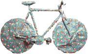 Wrapped Up Bike Present