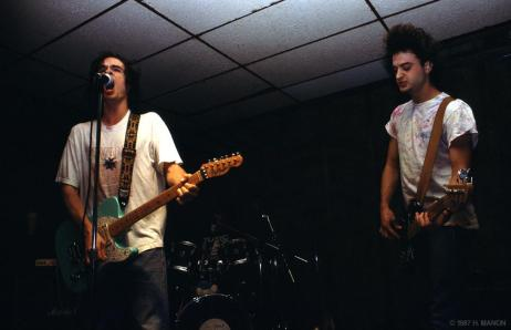 6 Feet Under performing at The Union Bar & Grill, 1987. Photo by Hugh Manon.