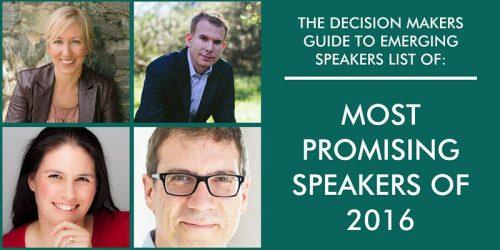 promising speakers