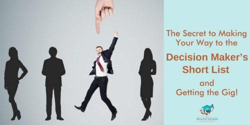 decision makers short list
