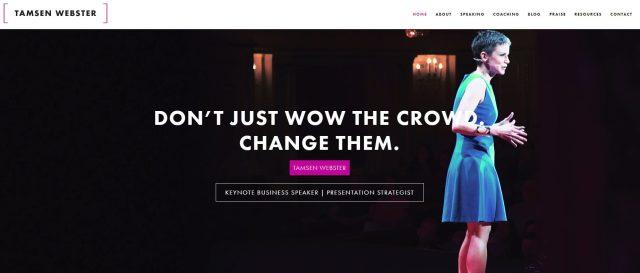tamsen webster speaker website