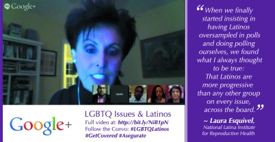 Laura Esquivel on LGBTQ Latinos