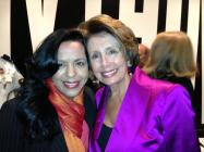 Minority Leader of the U.S. House of Representatives,Nancy Pelosy.