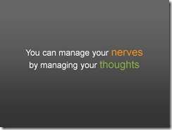 key message slide