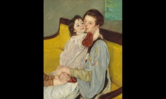 Maternal Caress, Mary Cassatt