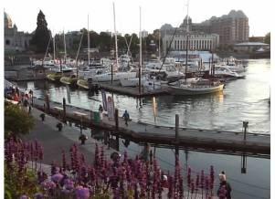 Beautiful harbor view, Victoria