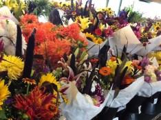 flowers in Seattle Pike Market