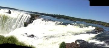 Iguazu Falls, Brazil Border
