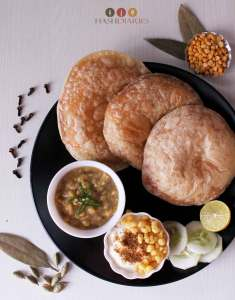 BEngali Breakfast Recipe Hinger Kochuri Cholar Dal