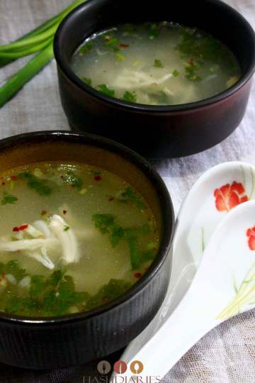 Easy Clear Chicken Soup recipe