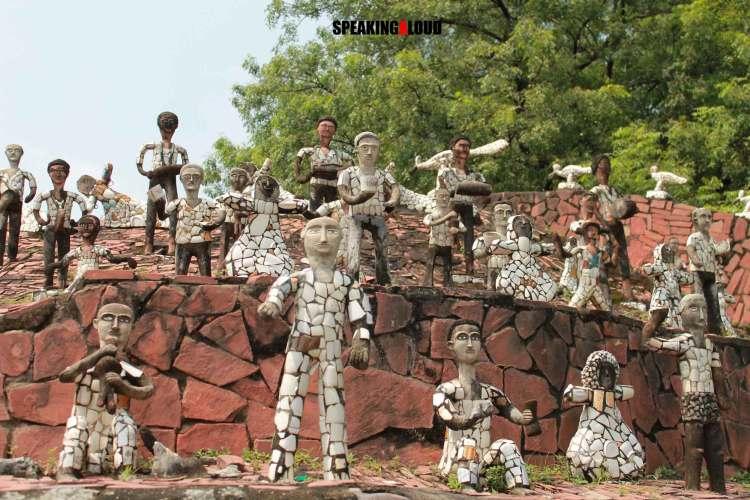 rock garden chandigarh art