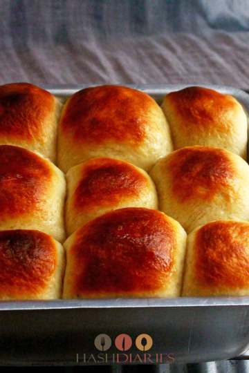 Dinner Rolls Ladi Pav Recipe