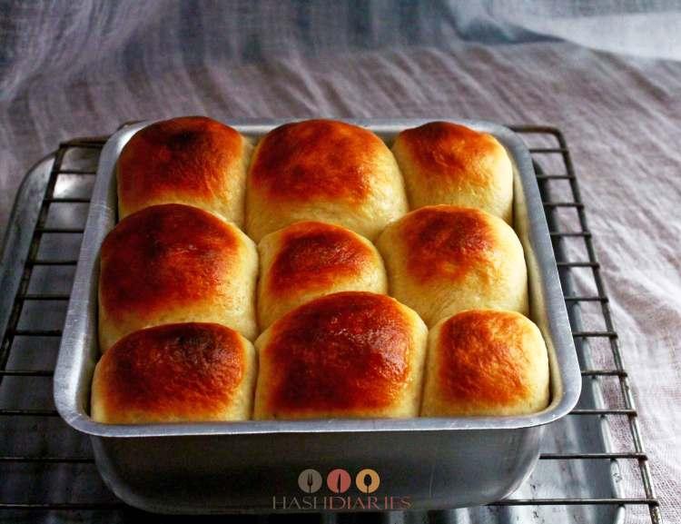 Dinner Rolls Ladi Pav Recipe