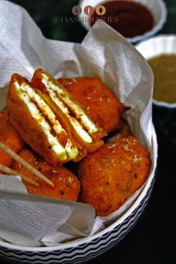 Spicy Paneer Pakoda Recipe for Snacks
