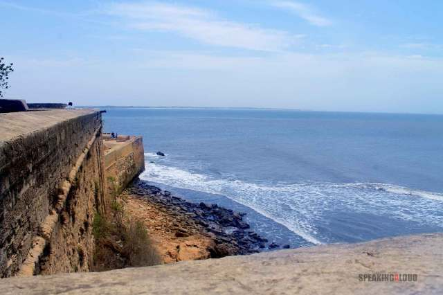 Diu Fort Arabian Sea