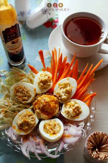 Spicy Best Deviled Eggs recipe