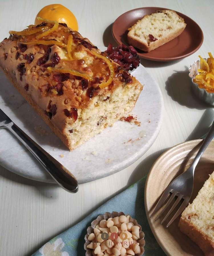 Orange Cranberry Cake Recipe