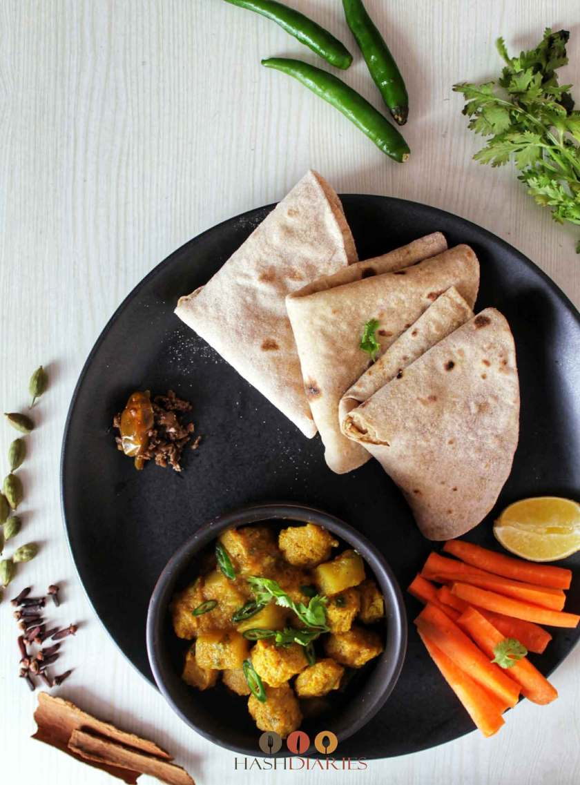 Soya-Curry-Recipe-Meal