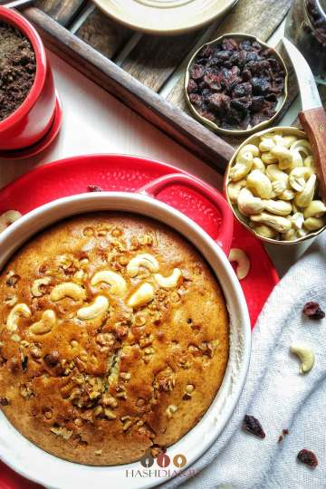Fruit and Nut Cake Recipe