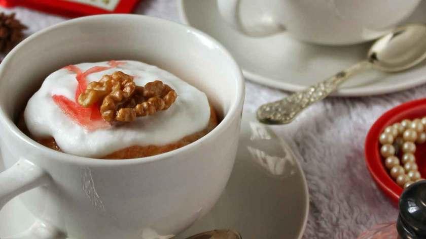 Carrot Mug Cake Recipe
