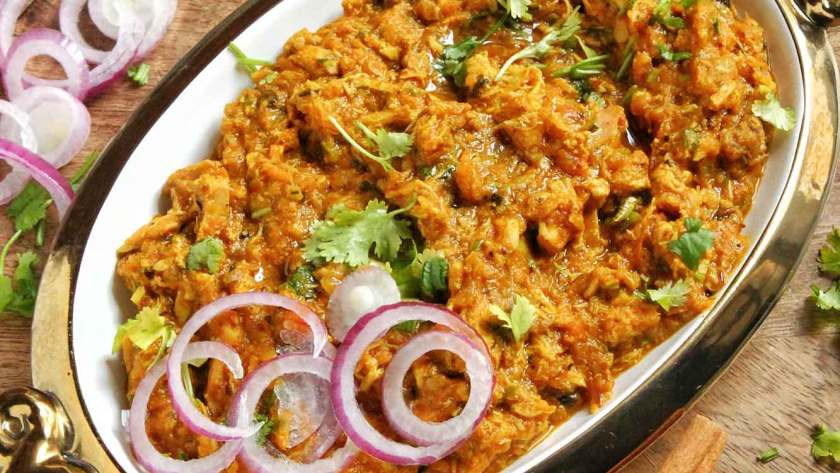 recipe of chicken bharta